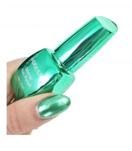 لاک آینه ای سبز هادا بیوتی کد 02 hada beauty قیمت خرید اینترنتی لاک آینه ای سبز