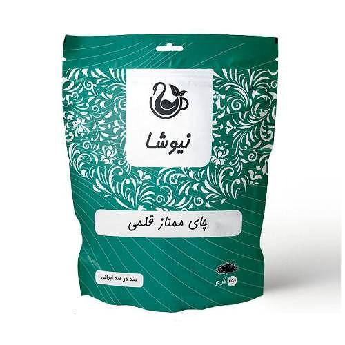 چای قلمی چیست و مشخصات قیمت و خرید آنلاین چای ممتاز قلمی ایرانی نیوشا