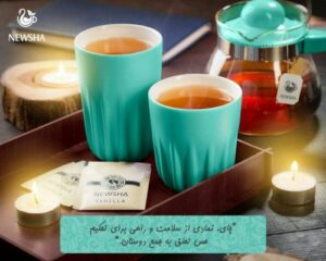 چای وانیل کیسه ای نیوشا