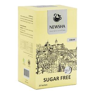 کافی میکس با طعم خامه نیوشا %%sep%% خرید تک به قیمت عمده پودر قهوه فوری 2 در 1 بدون شکر نیوشا