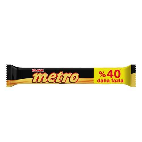 شکلات مترو محصول کارخانه اولکر ترکیه
