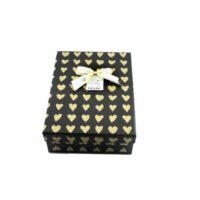 جعبه هدیه مستطیل طرح قلب کد 029