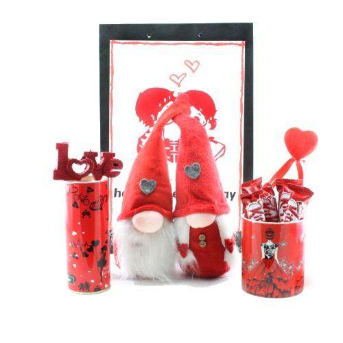 پک هدیه دخترانه ولنتاین قرمز