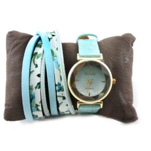 ست هدیه ولنتاین دخترانه ساعت و دستبند