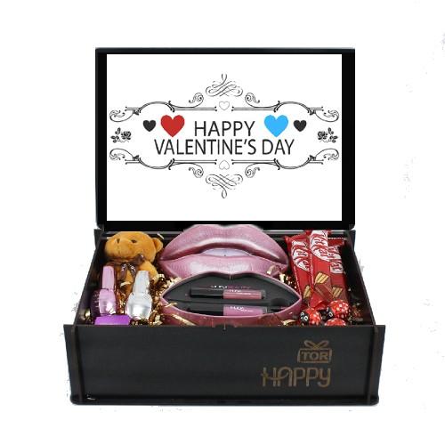 خرید پک هدیه ویژه ولنتاین ست آرایش لب هدی بیوتی (HUDA BEAUTY)