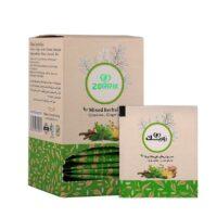 مشخصات ، فواید درمانی و خرید تک به قیمت عمده دمنوش گیاهی چای سبز و زنجبیل زوریک