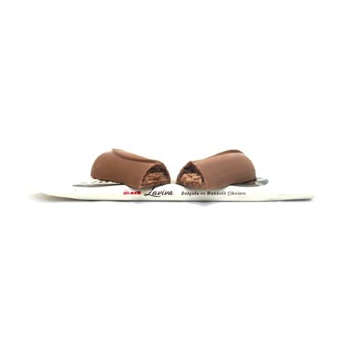مشخصات ، قیمت و خرید شکلات شیری با بیسکوئیت شکلاتی و کرم شکلات تلخ لاویوا اولکر ulker laviva محصول شرکت اولکر ترکیه در فروشگاه اینترنتی همواره تخفیف هپی طور