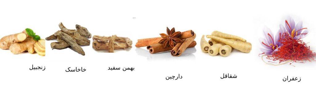 خواص درمانی شربت مخلوط گیاهی شقاقل زنجبیل زوریک
