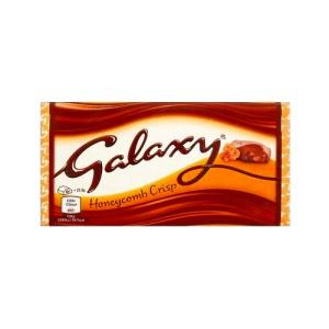 مشخصات ، قیمت روز و خرید اینترنتی شکلات کریسپی گلکسی حاوی عسل