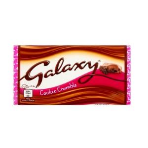 مشخصات ، قیمت روز و خرید اینترنتی شکلات گلکسی کوکی کرامبل 114 گرمی مناسب گیاهخواران