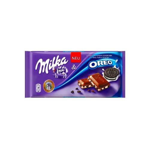 مشخصات ، قیمت روز و خرید اینترنتی شکلات شیری میلکا اورو milka oreo %%sep%% %%sitename%%