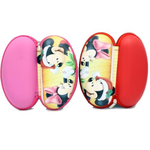 خرید اینترنتی قاب عینک آفتابی کودکانه دخترانه و پسرانه ، طرح آقا و خانم میکی موز کد037