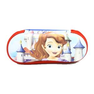 خرید اینترنتی کیف عینک آفتابی و طبی بچه گانه دخترانه فانتزی طرح کارتونی پرنسس سوفیا