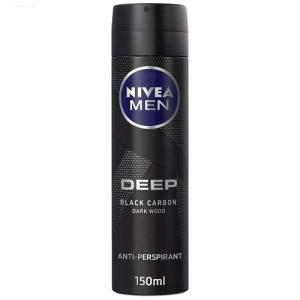 اسپری ضد تعریق مردانه نیوآ دیپ مدل Black Carbon حجم150 میل
