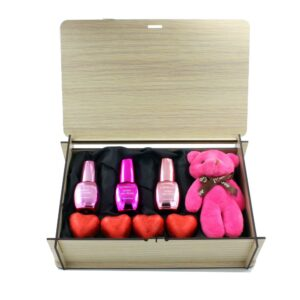 پیشنهاد ، ایده ، قیمت ، خرید فروش اینترنتی پک ( باکس ) هدیه ( کادو ) لوازم آرایشی ( آرایش ناخن ) لاک کروم ( آیینه ای ) هدی بیوتی هدیه خاص و عاشقانه دخترانه