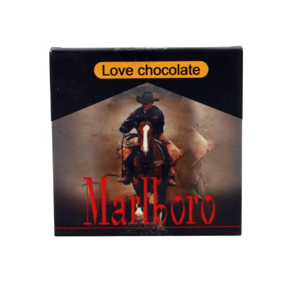 شکلات عشق love تخته ای طرح مارلبرو مشکی کد 4