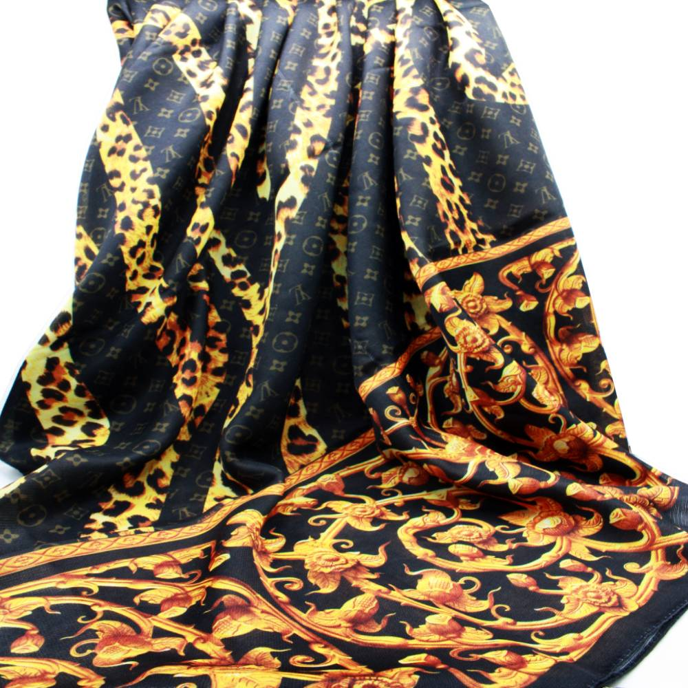 مشخصات هدیه زنانه پک شال سر لویی ویتون کد 03 :
