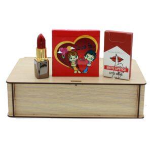 هدیه دخترانه پک فانتزی آرایشی عاشقانه 3تکه (2)