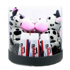 پک هدیه ولنتاین 99 عروسک گاو مدل بوسه