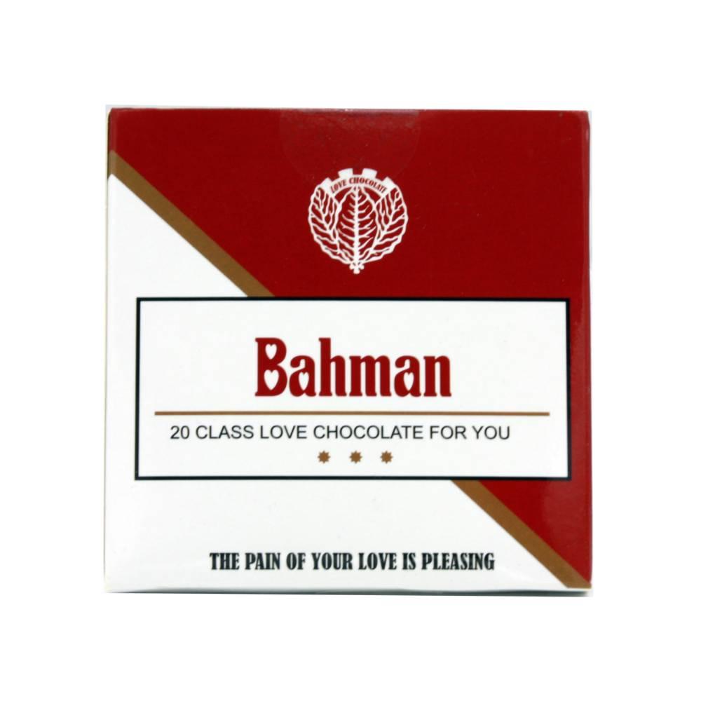 شکلات طرح سیگار بهمن قرمز