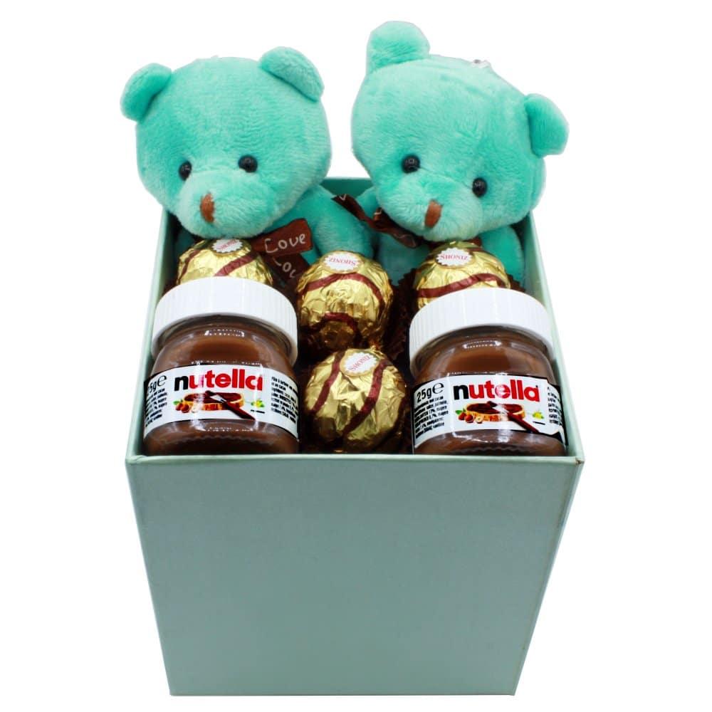 هدیه عاشقانه و فانتزی پسرانه عروسک + شکلات کد43